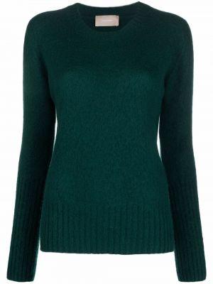Шерстяной свитер - зеленый Drumohr