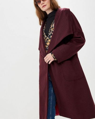 Пальто с капюшоном Gepur