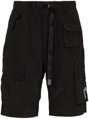 Черные нейлоновые шорты Billionaire Boys Club