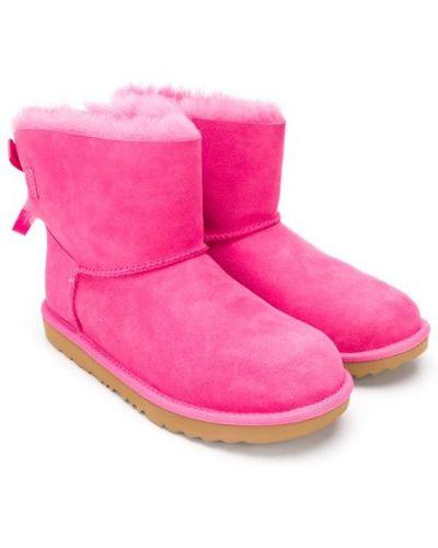 Угги розовый для обуви Ugg Australia Kids
