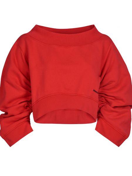 Красный хлопковый джемпер Dsquared2