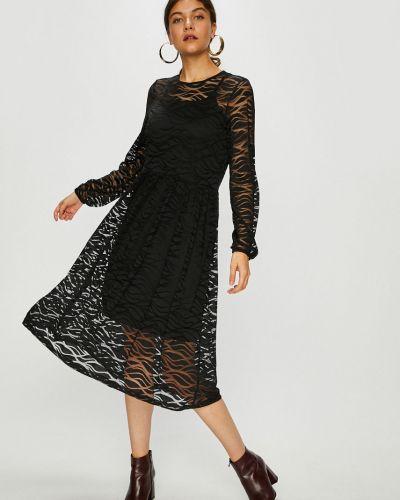 Платье макси однотонное прямое Jacqueline De Yong