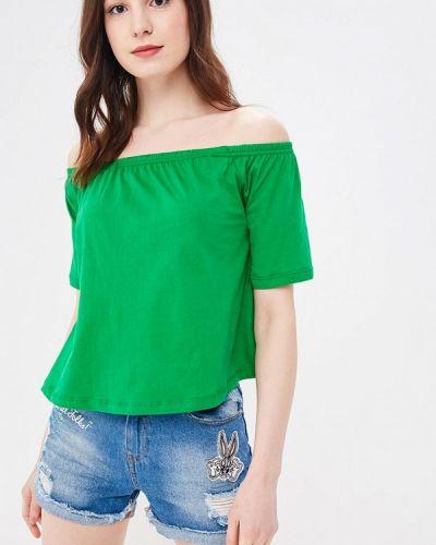 Зеленая футболка Modis
