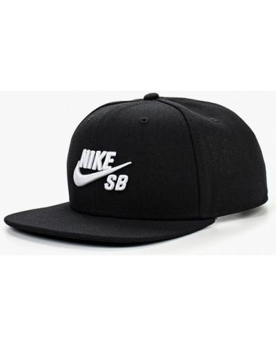 Черная бейсболка 2018 Nike