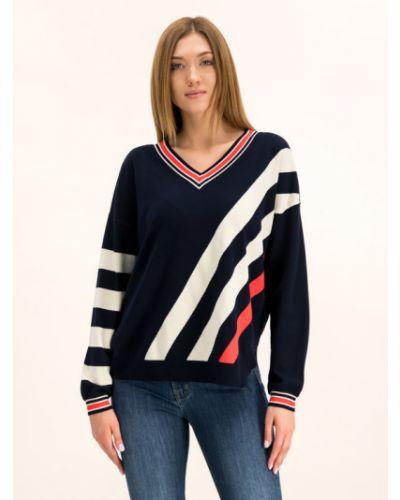 Sweter granatowy Laurel