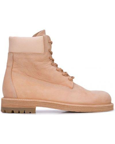 Массивные бежевые ботинки Hender Scheme