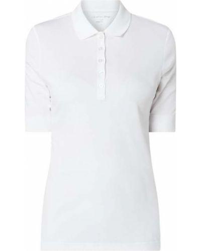 Biały t-shirt bawełniany Christian Berg Women