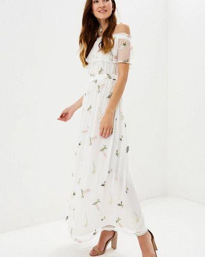 Белое вечернее платье Dorothy Perkins