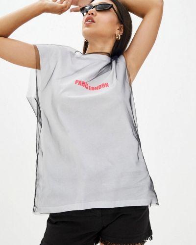 Серая футболка Frankie Morello