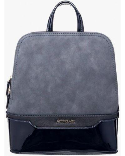 Рюкзак лаковый замшевый Astonclark
