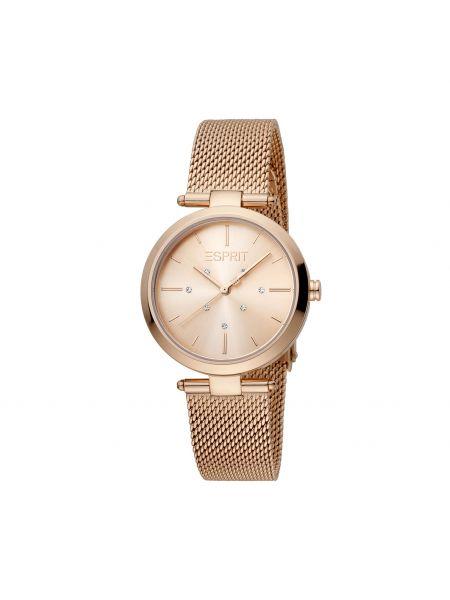 Złoty zegarek Esprit