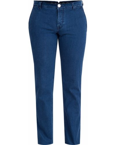Прямые джинсы с карманами синий Stefano Ricci