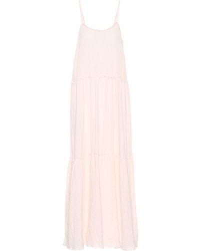 Платье мини розовое макси Atm Anthony Thomas Melillo