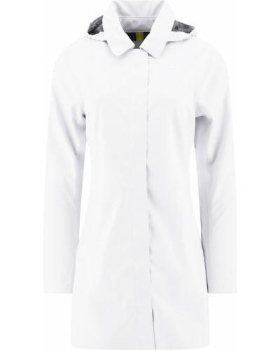 Biała kurtka casual K-way