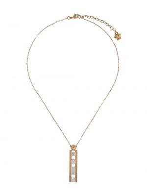 Wisiorka ze złota złoto pozłacany Versace
