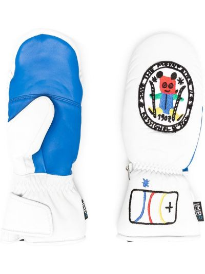 Кожаные перчатки - белые Rossignol