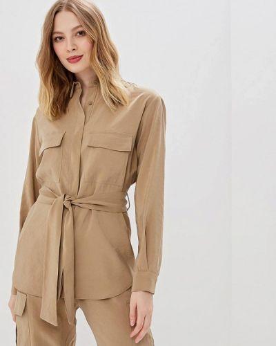Блузка с длинным рукавом бежевый итальянский Imperial
