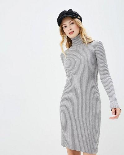 Платье осеннее серое By Swan