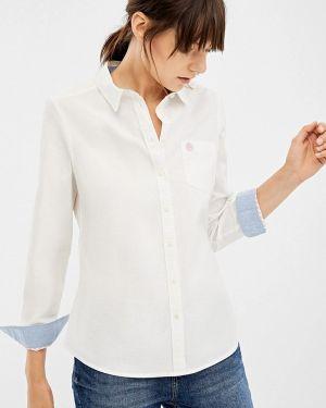 Рубашка с длинным рукавом белая Springfield