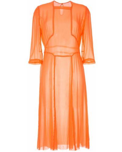 Приталенное платье - оранжевое Zambesi