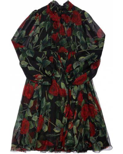 Шифоновое платье Dolce & Gabbana
