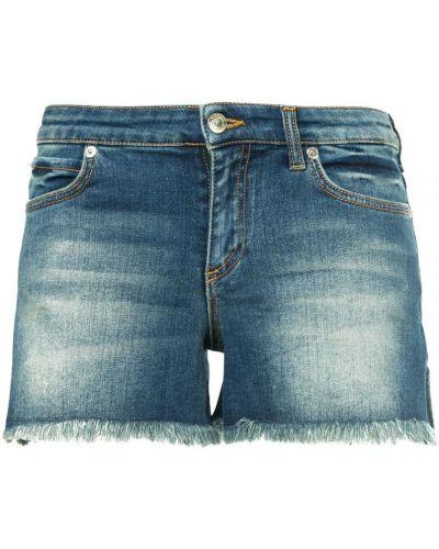 Джинсовые шорты синий с карманами Versace Collection