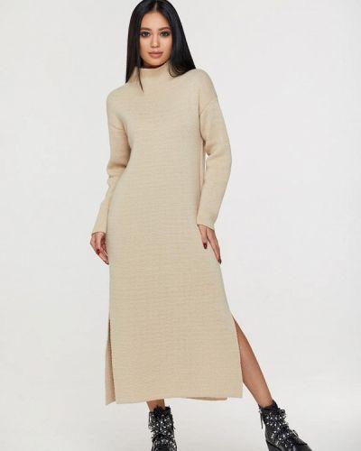 Платье весеннее бежевое Brunello De Neri