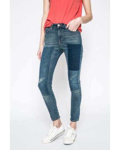 Синие джинсы-скинни Lee