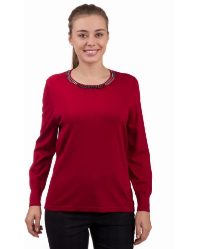 Пуловер красный Rabe Collection