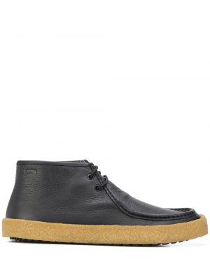 Кожаные ботинки - черные Camper