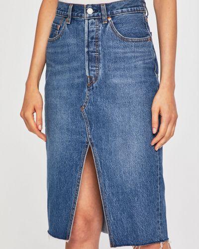 Юбка миди джинсовая на пуговицах Levi's®