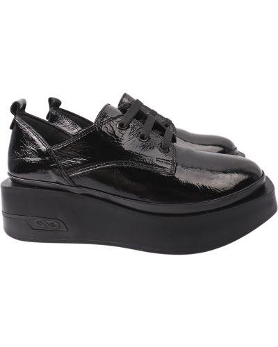 Кожаные туфли - черные Mario Muzi