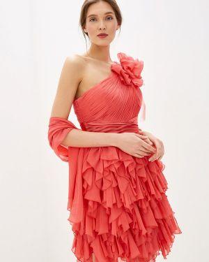 Вечернее платье коралловый индийский Amour Bridal
