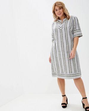Повседневное платье серое Borboleta