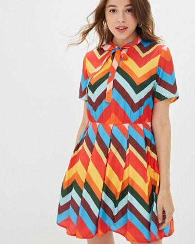 Разноцветное платье Mazal