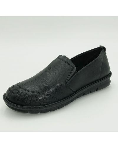 Кожаные ботинки - черные Gabis