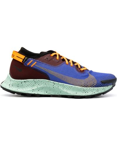 Markowe niebieski koronkowa top Nike