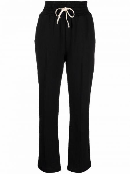 Czarne spodnie bawełniane Viktor & Rolf