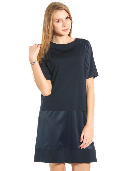 Платье из полиэстера - синее Cerruti 18crr81