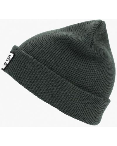 Зеленая шапка осенняя Vans