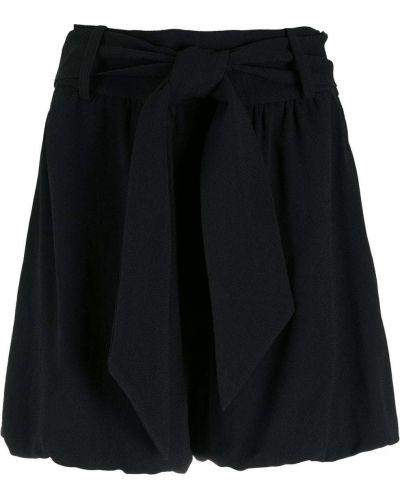 Свободные черные шорты с карманами Nk