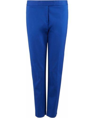 Синие зауженные брюки Dkny