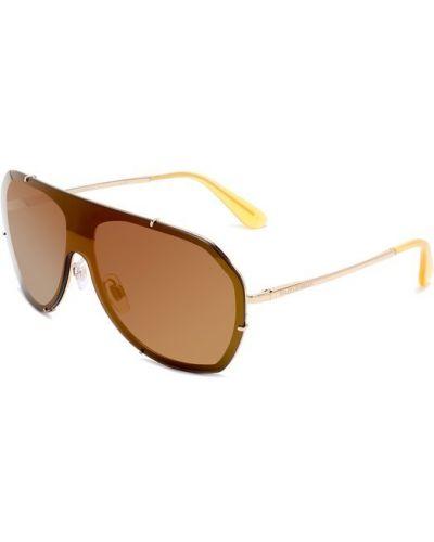 Коричневые солнцезащитные очки Dolce & Gabbana