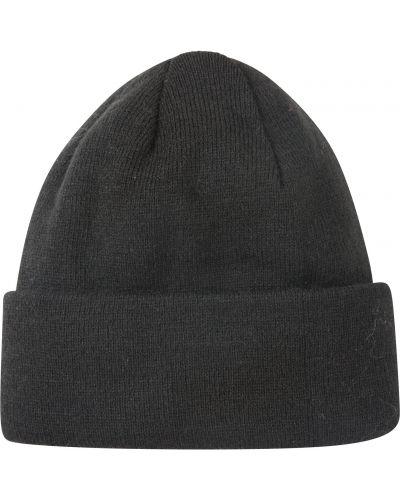 Czarny czapka beanie materiałowy Mountain Warehouse