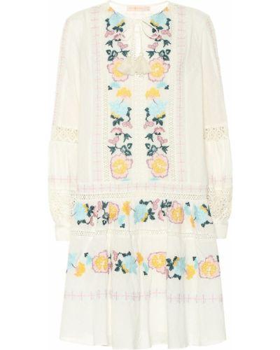 Платье с вышивкой в стиле бохо Tory Burch
