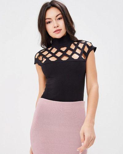 Черное боди блуза Lozana Paris