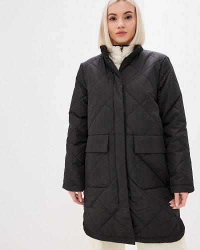 Утепленная куртка - черная Selected Femme