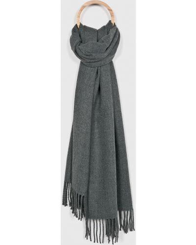 Серый шарф Jack & Jones