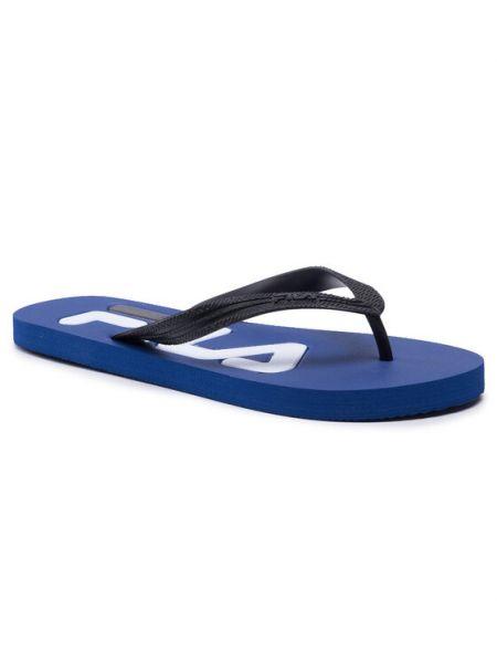 Sandały japonki - czarne Fila