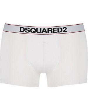 Białe majtki bawełniane Dsquared2 Underwear
